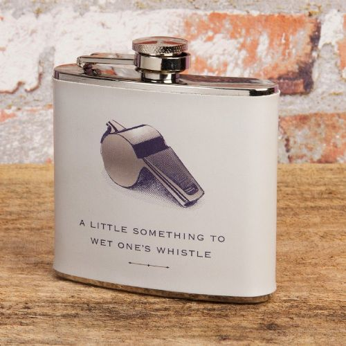 Gentlemans Hip Flask - Vintage Vibe Gift For Friends, Brothers and Dads